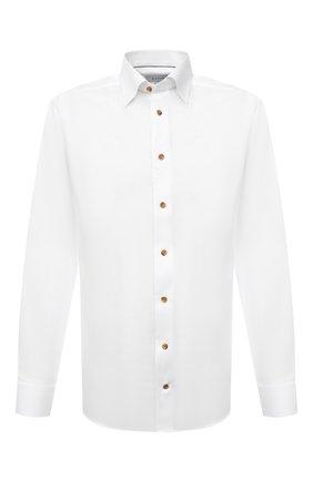 Мужская хлопковая сорочка ETON белого цвета, арт. 1000 01276 | Фото 1