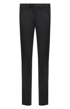 Мужской шерстяные брюки CORNELIANI темно-серого цвета, арт. 864C05-0818537/02   Фото 1
