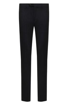 Мужской шерстяные брюки CORNELIANI темно-синего цвета, арт. 864C05-0818537/02   Фото 1