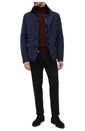 Мужская пуховая куртка rlx RALPH LAUREN темно-синего цвета, арт. 784825219 | Фото 2