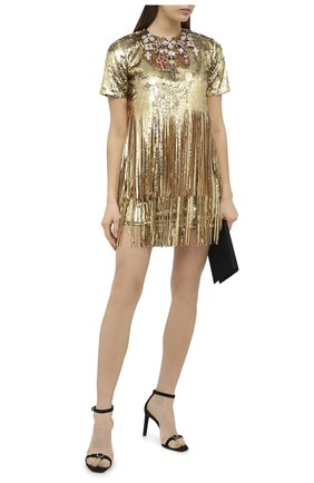 Женское платье PHILIPP PLEIN бежевого цвета, арт. A20C WRG1728 PTE003N | Фото 2