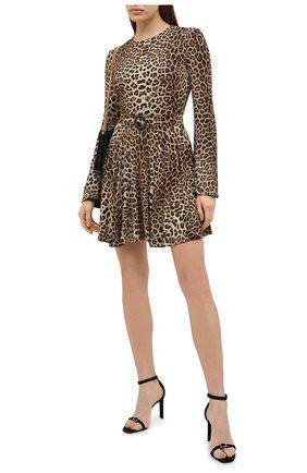 Женское платье из вискозы PHILIPP PLEIN коричневого цвета, арт. A20C WRG1605 PTE157N | Фото 2