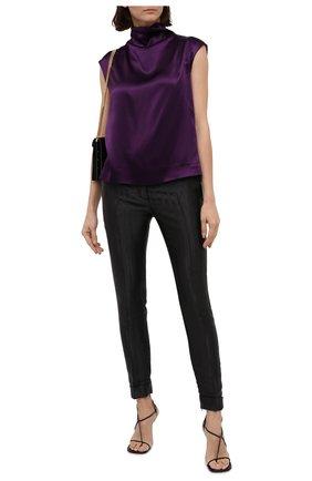 Женские брюки TOM FORD черного цвета, арт. PAW346-FAX754 | Фото 2