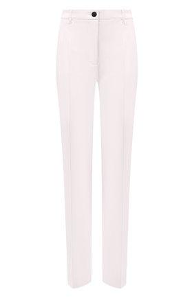 Женские шерстяные брюки DOLCE & GABBANA белого цвета, арт. JD03AT/FUCCS | Фото 1