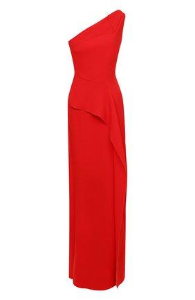 Женское шерстяное платье ROLAND MOURET красного цвета, арт. PW20/S0948/F4044   Фото 1