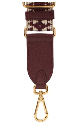Женские ремень nastro для сумки  COCCINELLE бордового цвета, арт. E3 GZ6 68 05 27 | Фото 2