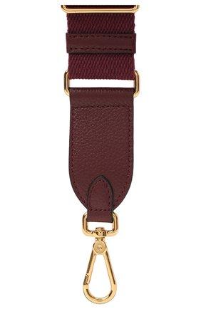 Женские ремень nastro для сумки  COCCINELLE бордового цвета, арт. E3 GZ6 68 05 26 | Фото 2