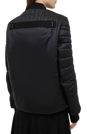Женский пуховая куртка moncler + rick owens RICK OWENS черного цвета, арт. MU20F0008/C0596 | Фото 4
