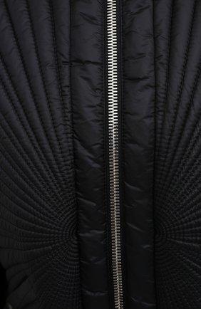Женский пуховая куртка moncler + rick owens RICK OWENS черного цвета, арт. MU20F0008/C0596 | Фото 5