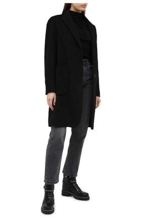 Женские кожаные ботинки RENE CAOVILLA черного цвета, арт. C10860-025-0001V213   Фото 2