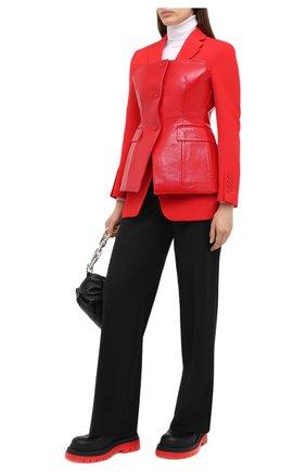 Женский шерстяной жакет BURBERRY красного цвета, арт. 4566104 | Фото 2