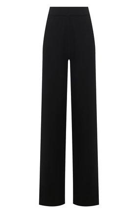 Женские брюки из шерсти и шелка ALEXANDRA GOLOVANOFF черного цвета, арт. PATDR0IT NEW | Фото 1