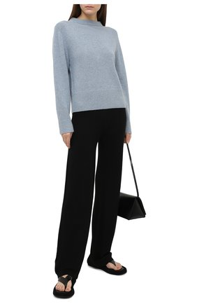 Женские брюки из шерсти и шелка ALEXANDRA GOLOVANOFF черного цвета, арт. PATDR0IT NEW | Фото 2