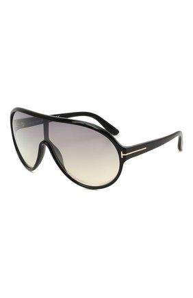 Женские солнцезащитные очки TOM FORD коричневого цвета, арт. TF814   Фото 1