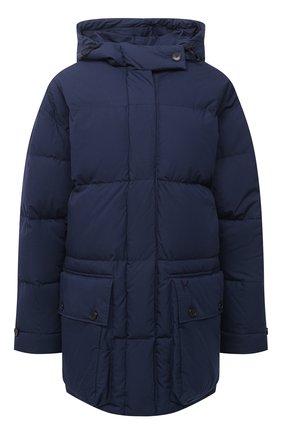 Женский пуховая куртка KENZO темно-синего цвета, арт. FA620U0671NE | Фото 1