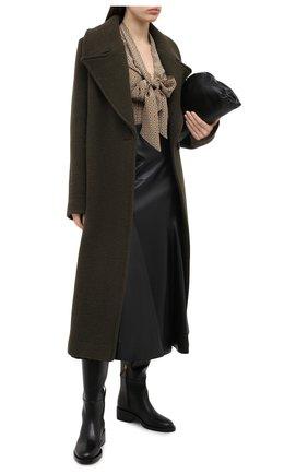Женские кожаные сапоги valentino garavani supervee VALENTINO черного цвета, арт. UW0S0AI0/AXA | Фото 2