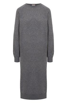 Женское платье из шерсти и кашемира MRZ серого цвета, арт. FW20-0147 | Фото 1