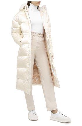 Женский пуховик NICOLE BENISTI белого цвета, арт. NLJ50465 | Фото 2