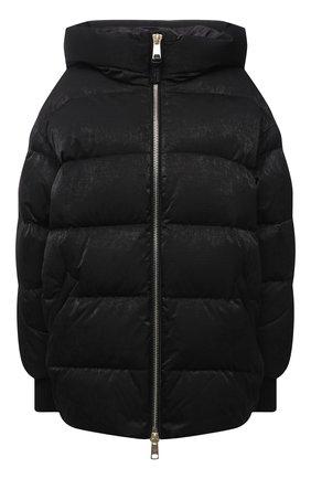 Женский пуховая куртка NICOLE BENISTI черного цвета, арт. NLJ50130 | Фото 1