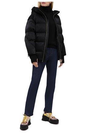 Женский пуховая куртка NICOLE BENISTI черного цвета, арт. NLJ50130 | Фото 2
