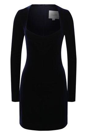 Женское платье GALVAN LONDON темно-синего цвета, арт. CD1061 VELVET | Фото 1