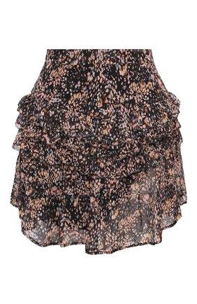 Женская юбка из вискозы IRO коричневого цвета, арт. WM31R0XANA | Фото 1