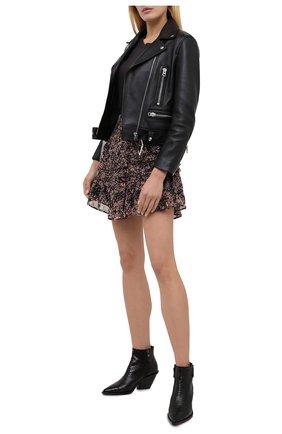 Женская юбка из вискозы IRO коричневого цвета, арт. WM31R0XANA | Фото 2
