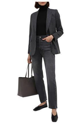 Женский шерстяной жакет AMI серого цвета, арт. H20FV012.231 | Фото 2