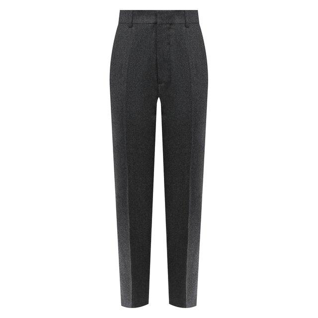 Шерстяные брюки Ami