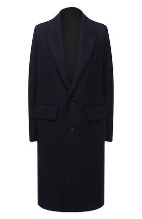 Женское пальто AMI темно-синего цвета, арт. H20FM004.224 | Фото 1