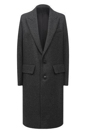 Женское пальто AMI серого цвета, арт. H20FM004.224 | Фото 1