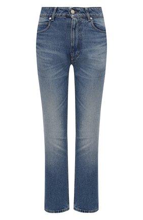 Женские джинсы AMI синего цвета, арт. H20FD010.601 | Фото 1