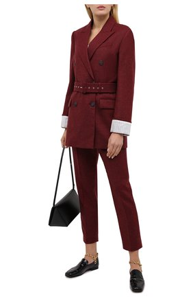 Женский шерстяной жакет RACIL красного цвета, арт. RS11-J06-FARRAH W00L | Фото 2