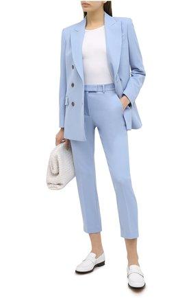Женские брюки RACIL синего цвета, арт. RS11-P05-0SCAR DRILL | Фото 2