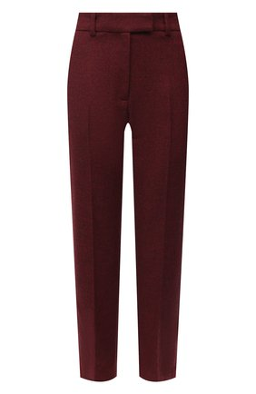 Женские шерстяные брюки RACIL красного цвета, арт. RS11-P05-0SCAR W00L | Фото 1