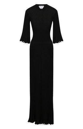 Женское платье BOTTEGA VENETA черного цвета, арт. 636700/V08B0 | Фото 1