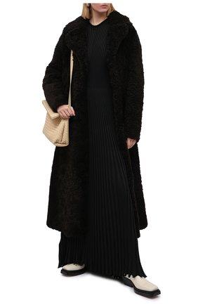 Женское платье BOTTEGA VENETA черного цвета, арт. 636700/V08B0 | Фото 2