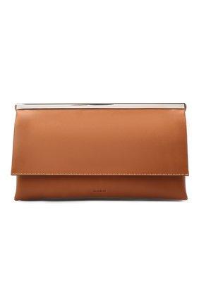 Женская сумка JIL SANDER коричневого цвета, арт. JSWR852474-WRB00078N   Фото 1