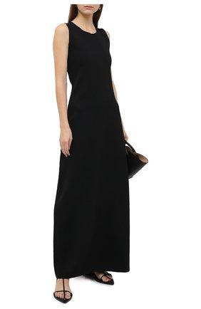 Женское платье JIL SANDER черного цвета, арт. JSWR754336-WRY29028 | Фото 2
