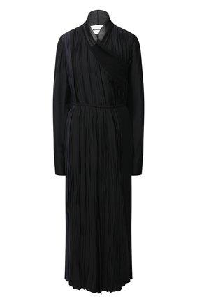 Женское платье из вискозы JIL SANDER черного цвета, арт. JSWR505656-WR392002C | Фото 1