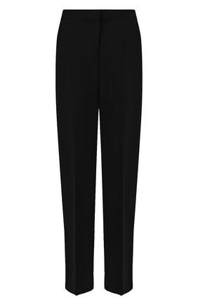 Женские шерстяные брюки JIL SANDER черного цвета, арт. JSWR306705-WR201100   Фото 1