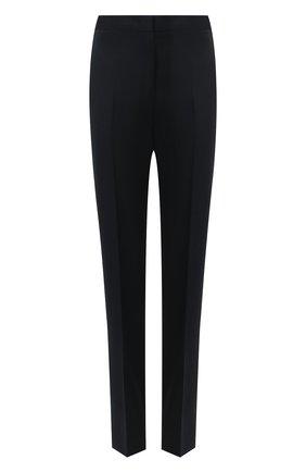 Женские шерстяные брюки JIL SANDER темно-синего цвета, арт. JSWR305720-WR202500 | Фото 1