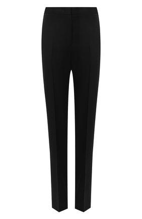 Женские шерстяные брюки JIL SANDER черного цвета, арт. JSWR305720-WR202500 | Фото 1