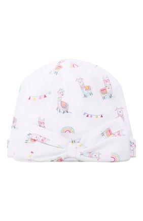 Детского хлопковая шапка KISSY KISSY разноцветного цвета, арт. KG505060N | Фото 1