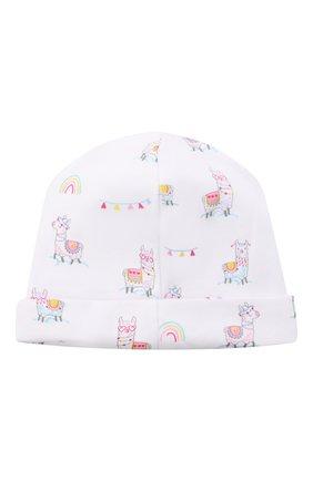 Детского хлопковая шапка KISSY KISSY разноцветного цвета, арт. KG505060N | Фото 2