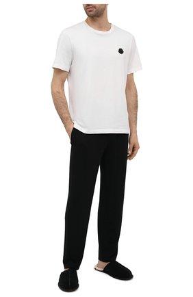 Мужского домашние туфли scuff UGG черного цвета, арт. 1101111_BLK | Фото 2