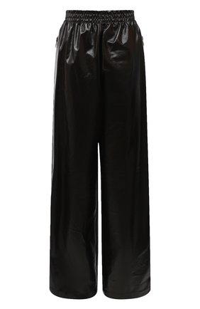 Женские кожаные брюки BOTTEGA VENETA темно-коричневого цвета, арт. 633867/VKLC0 | Фото 1