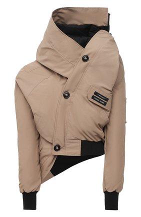 Женский пуховая куртка y/project x canada goose Y/PROJECT бежевого цвета, арт. YPCGJACK1 F230 | Фото 1