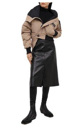 Женский пуховая куртка y/project x canada goose Y/PROJECT бежевого цвета, арт. YPCGJACK1 F230 | Фото 2