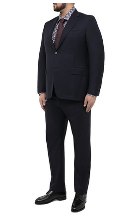Мужской шерстяной костюм CANALI темно-синего цвета, арт. 11280/10/AA00099/60-64 | Фото 1